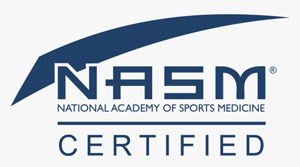 nasm certified logo nasm personal trainer hd png